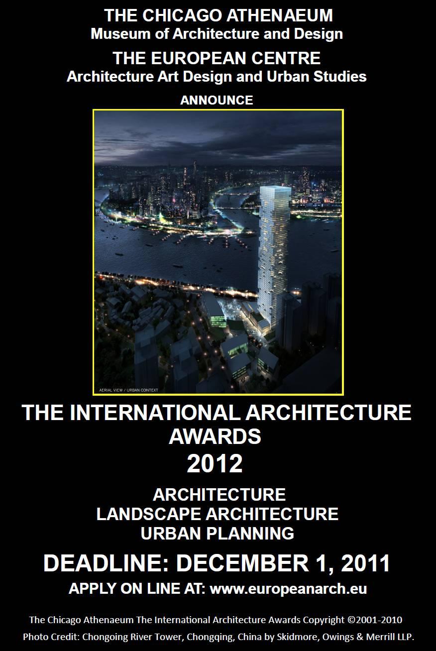 the international architecture awards 2012 ifla news brief