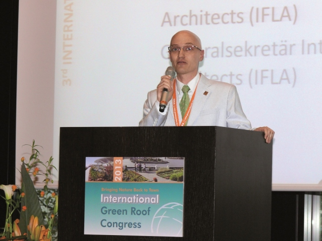 Landscape architects ifla news brief for International federation of landscape architects